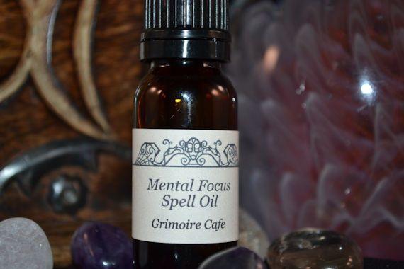 Mental Focus Spell Oil