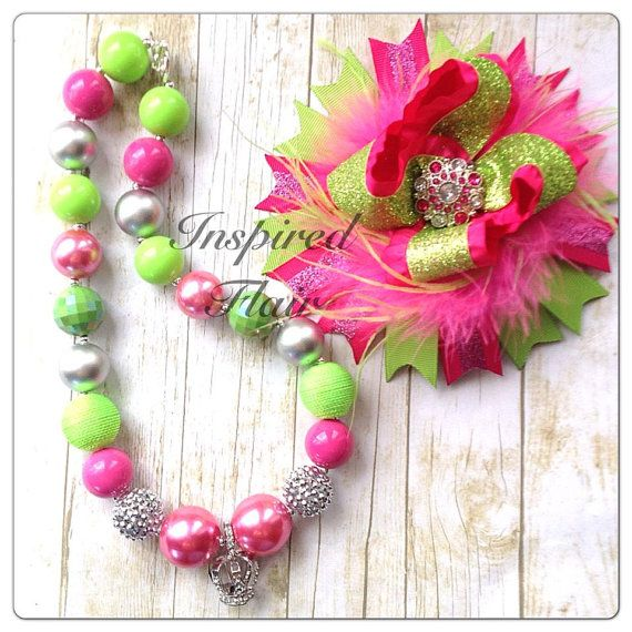 Neon Pink and Green Princess Rhinestone Crown by InspiredFlair, $30.00