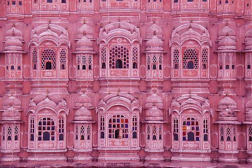 """Pink Palace"" -- Jaipur, India"