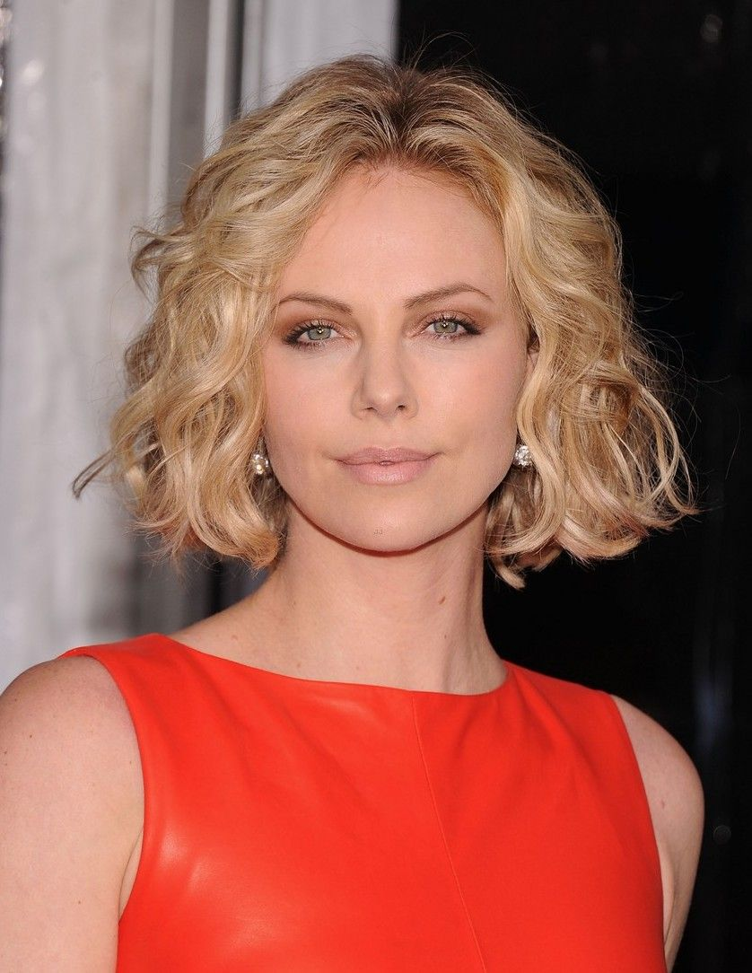 Charlize Theron People Pinterest Hair Hair Styles And Curly