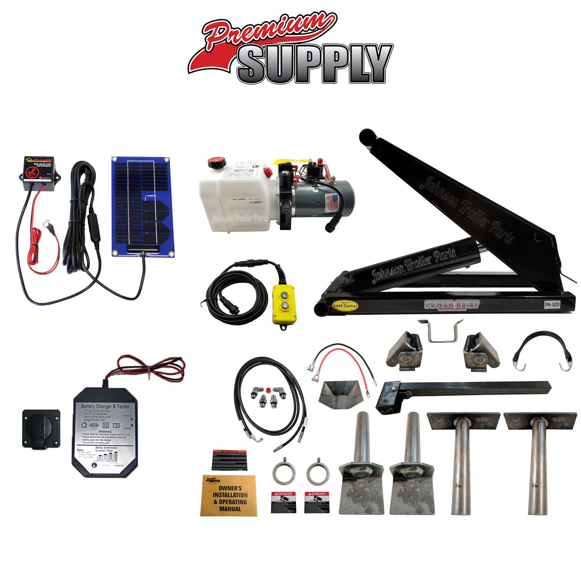 10 Ton Hydraulic Scissor Hoist Kit Fits 10' 16' Dump
