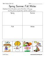seasons of the year matching worksheet education seasons kindergarten science worksheets. Black Bedroom Furniture Sets. Home Design Ideas