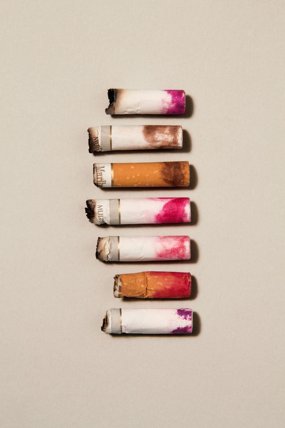 Cigarettes  Still Life By Alessio Paniccia