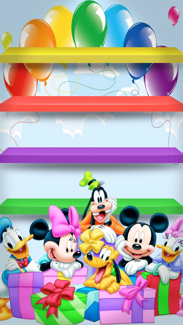 Lt3 Happy Birthday Disney Mickey Minnie Mouse Walt