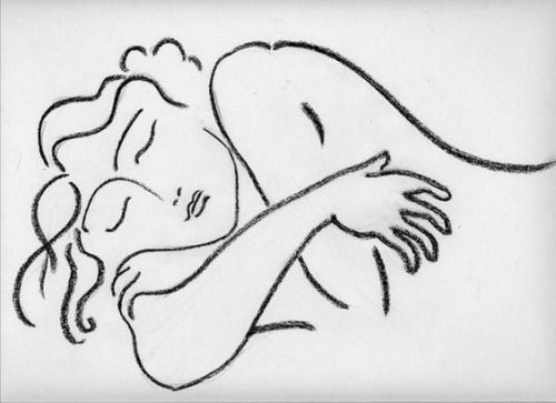 Drawing by Henri Matisse (via artimportant and Mudwerks)