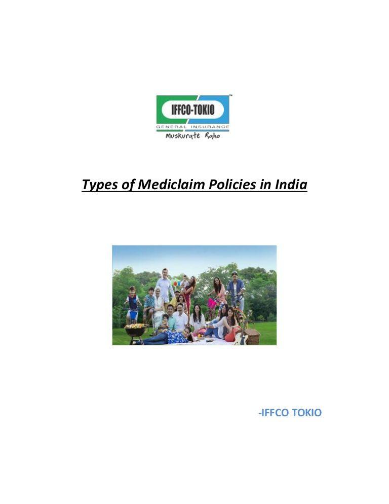 1) Individual Mediclaim policy : this Mediclaim policy ...