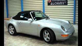 Traitement nano Alchimy7 cabriolet Porsche 993, via YouTube.