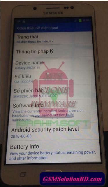 Samsung Clone J9 SM-J900FN MT6572 Firmware Flash File 100% Tested