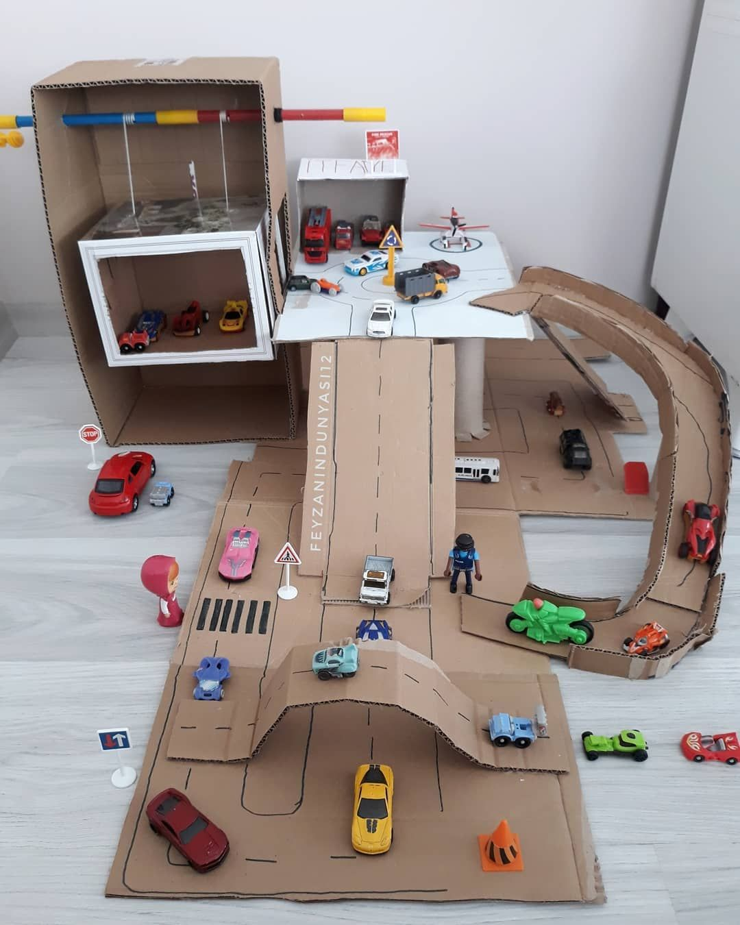 97 Cardboard Box Activities & Crafts for Kids - HA