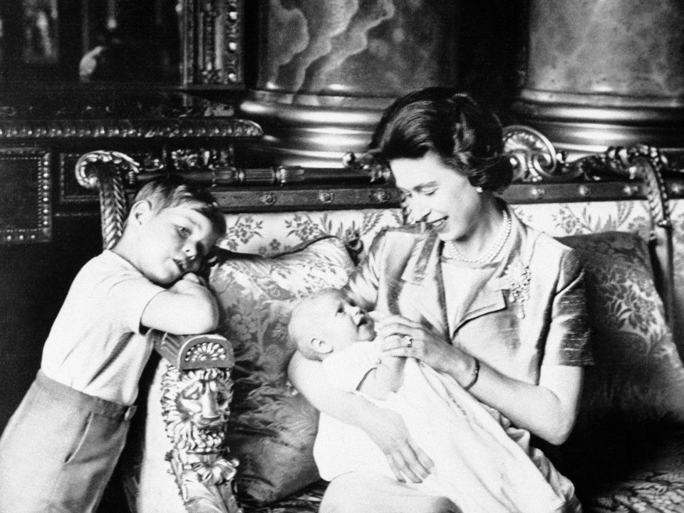 What the British royal family looked like the year you