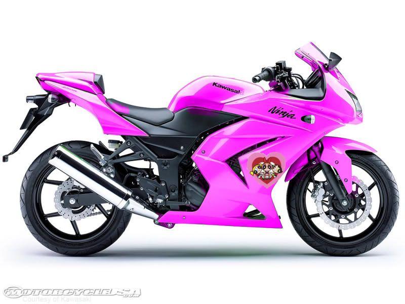 Pink Kawasaki 250 For Sale In Nc Pinkkawasakininja250r