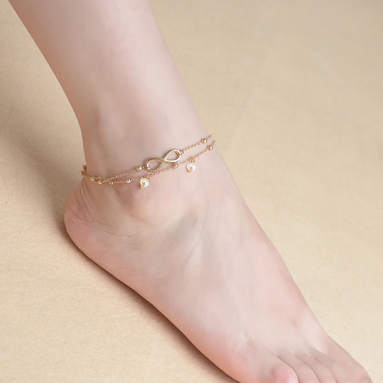 cz anklets gifts women ankle a on from bracelets high gold bells fashion quality jewelry womens crystal styles product for silver anklet leg bracelet diamond foot