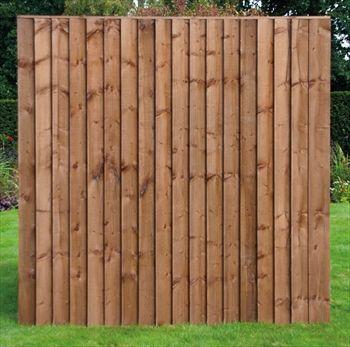 Heavy Duty Vertilap Featheredge Fence Panel 6ft X 4ft Fence Panels Backyard Fences Wooden Fence
