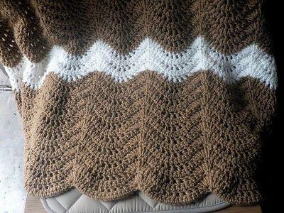 Ripple Romance Afghan Ravelry Downloadable Crochet Pattern Free