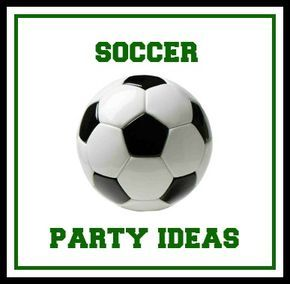 soccer birthday party ideas soccer birthday parties and soccer