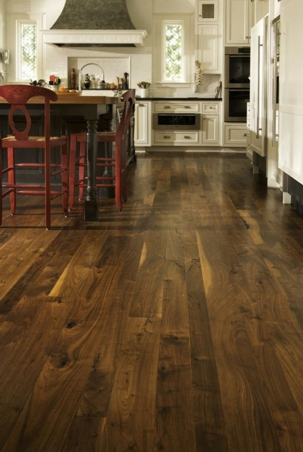 What should be considered and what flooring should you choose for the different rooms?