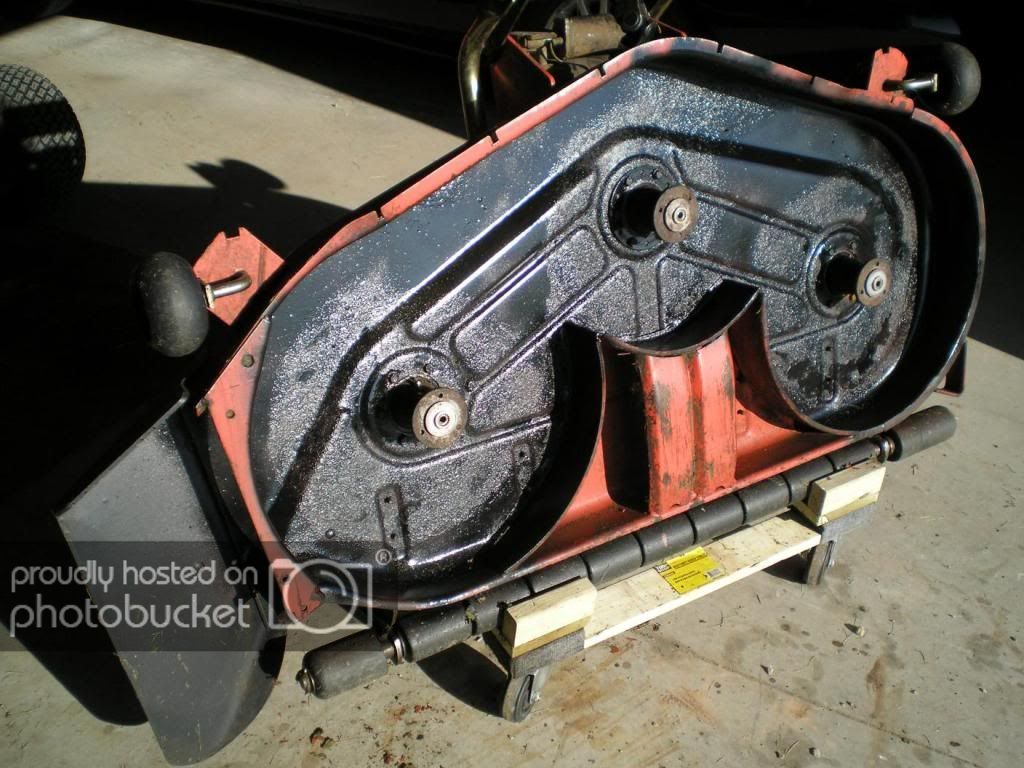 Deck Stand For Mower Deck Storage Mytractorforum Com The