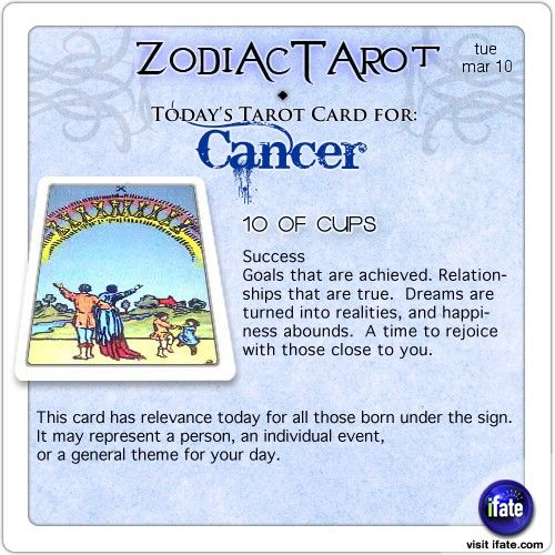 cancer horoscope march 10