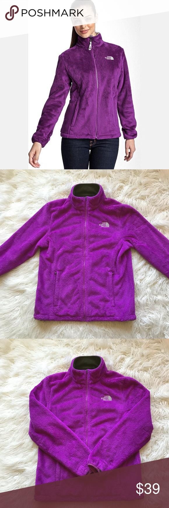 The North Face Purple Osito Fleece Jacket Fleece Jacket North Face Jacket Clothes Design [ 1740 x 580 Pixel ]