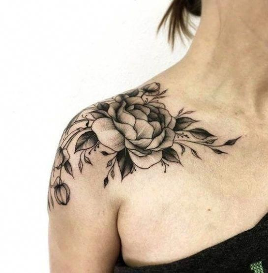 Photo of 35 OF THE MOST POPULAR SHOULDER TATTOO IDEAS FOR WOMEN – SHOULDER TATTOO, tempor…