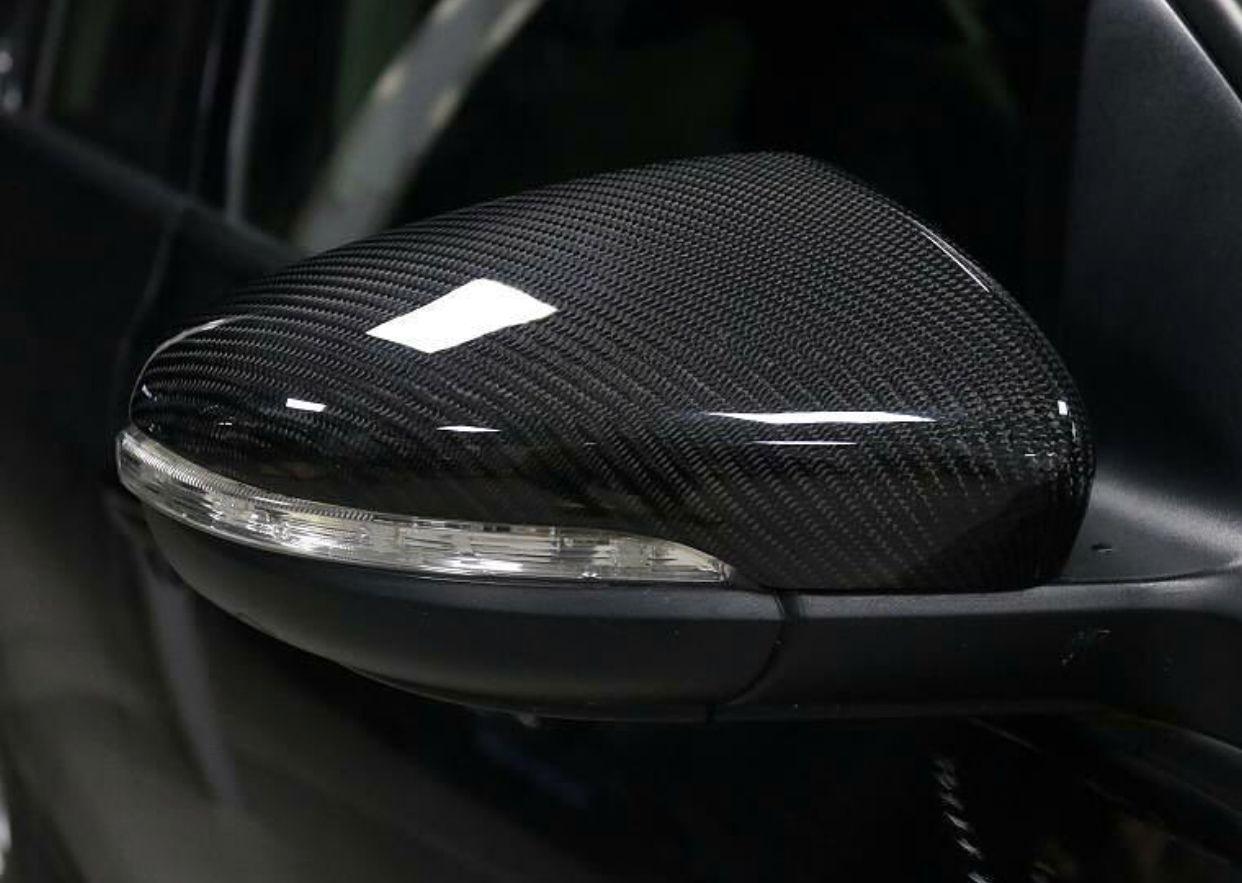 Real Carbon Fiber Side Mirror Cover Trim For Mk7 Fiber Siding Carbon Fiber Custom Car Interior