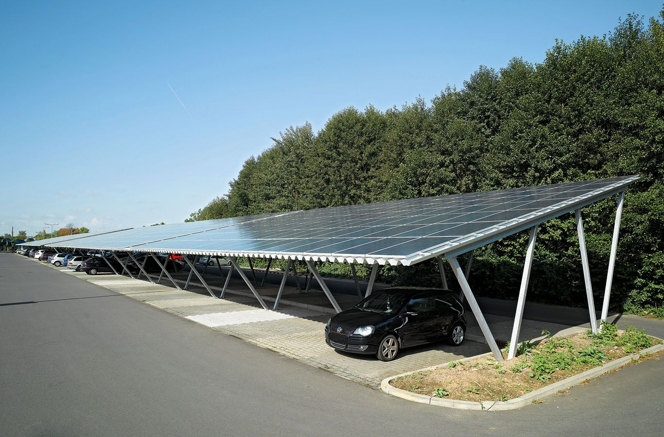 Car Park Solar Panels In The Uk Evler Catilar Ciftlikler