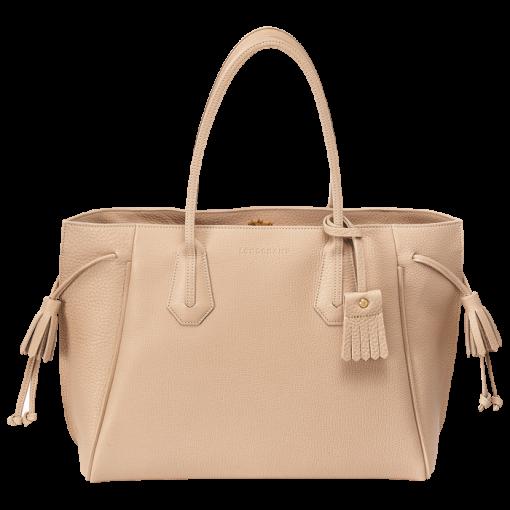 Tote bag - PÉNÉLOPE - Handbags - Longchamp - Terracotta ...