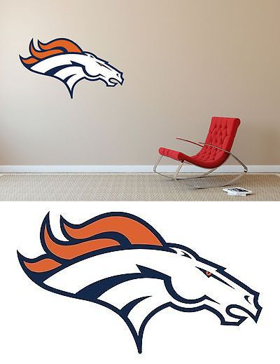 Broncos Wall Art decals stickers and vinyl art 159889: denver broncos *many sizes