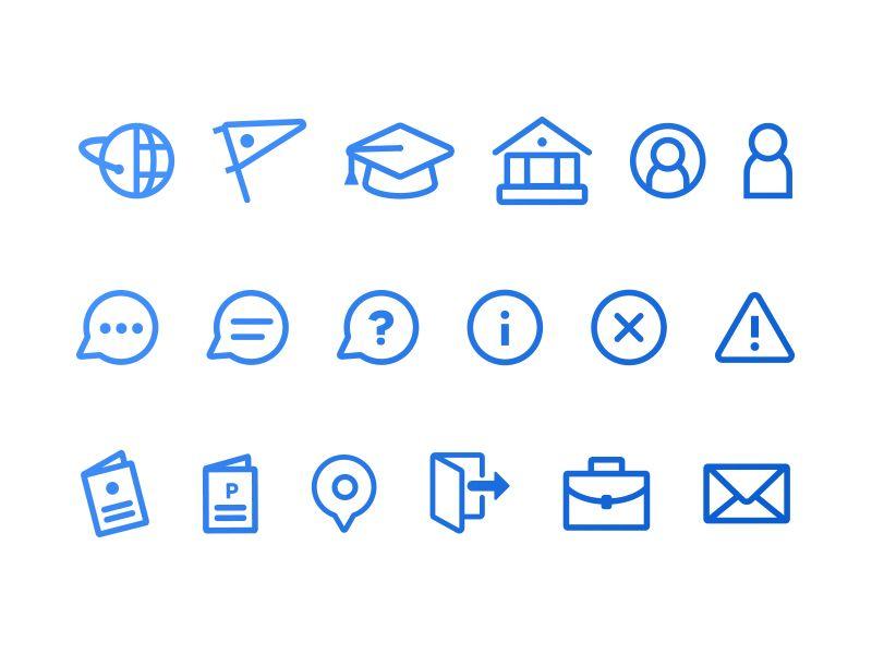 Icon Set Icon Set Icon Design Inspiration Resume Icons