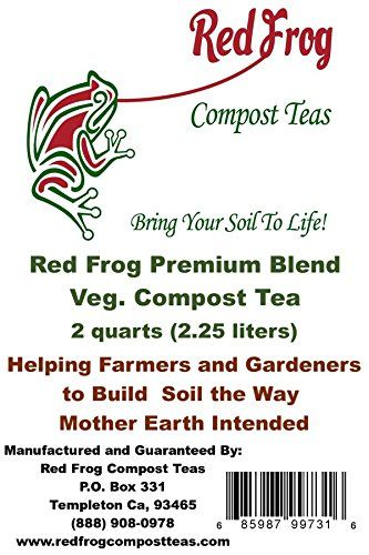 10 Off Sale Red Frog Ultimate Veg Compost Tea 3 Bs Organic Soil Minerals Nutrients Boosts Both Plant Root Growthhealthbes Compost Tea Compost Organic Compost