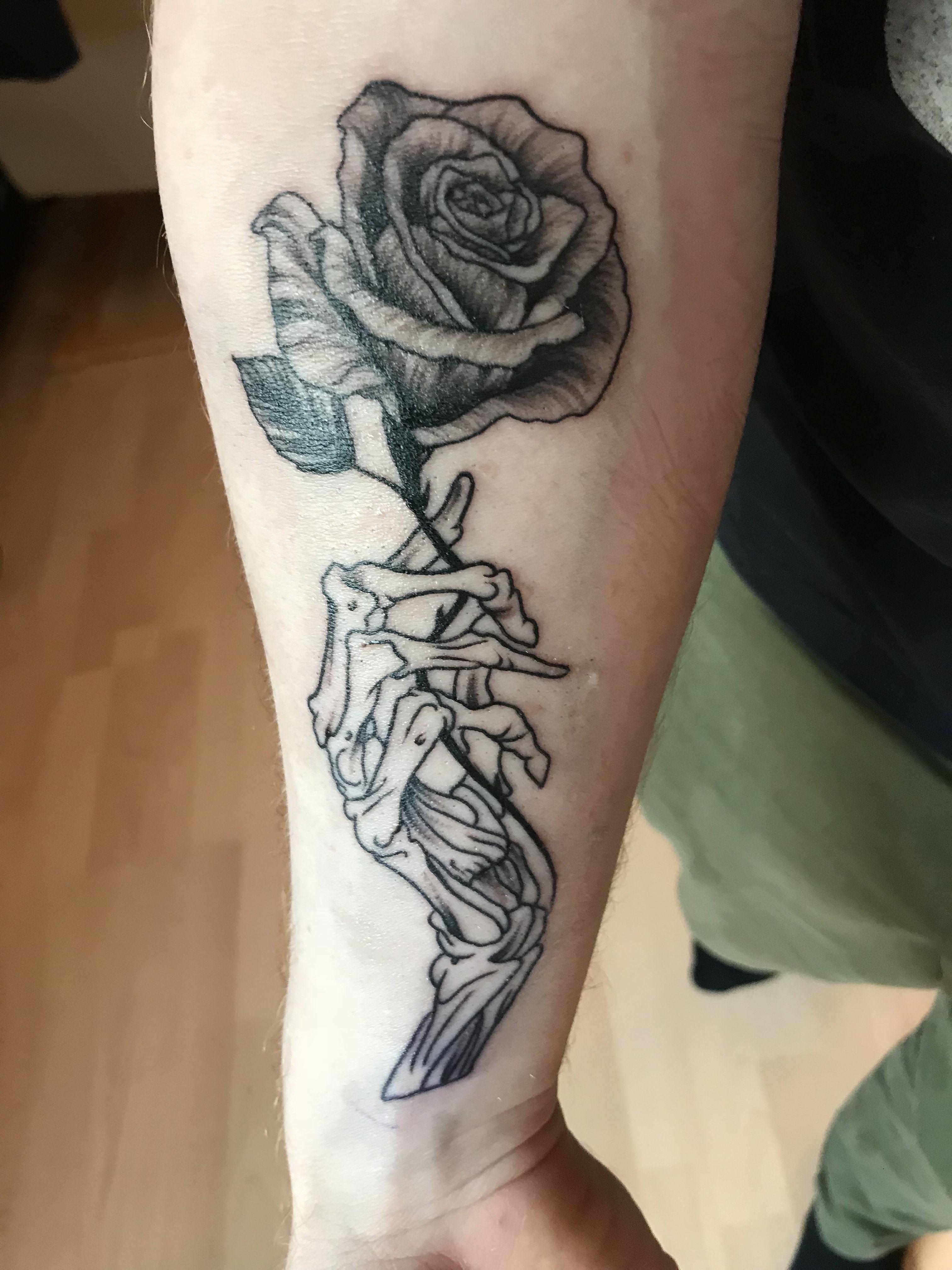 Coco Skelett Hande Temporare Tattoos Fur 4