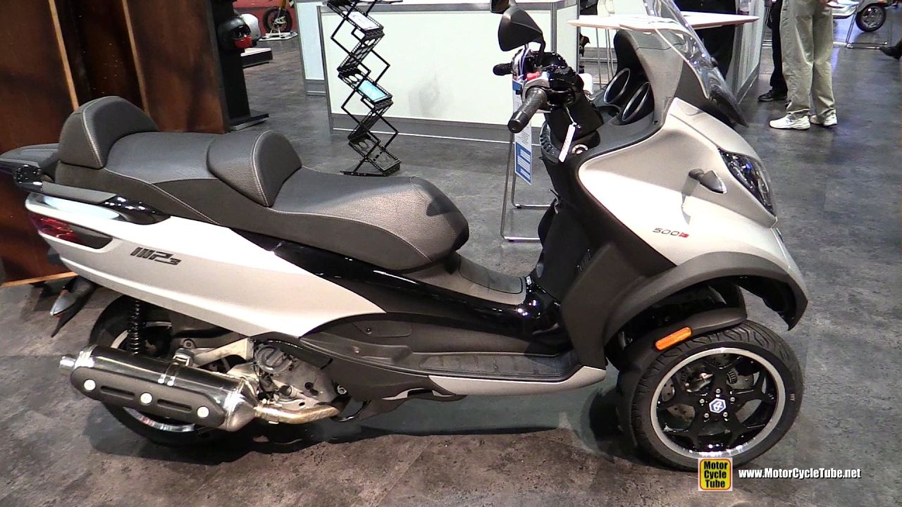 2017 Piaggio MP3 500 Ie ABS Scooter