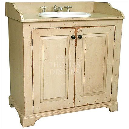 Savannah Vintage Country Cottage Bathroom Vanity Baths And Laundry Pinterest Vintage