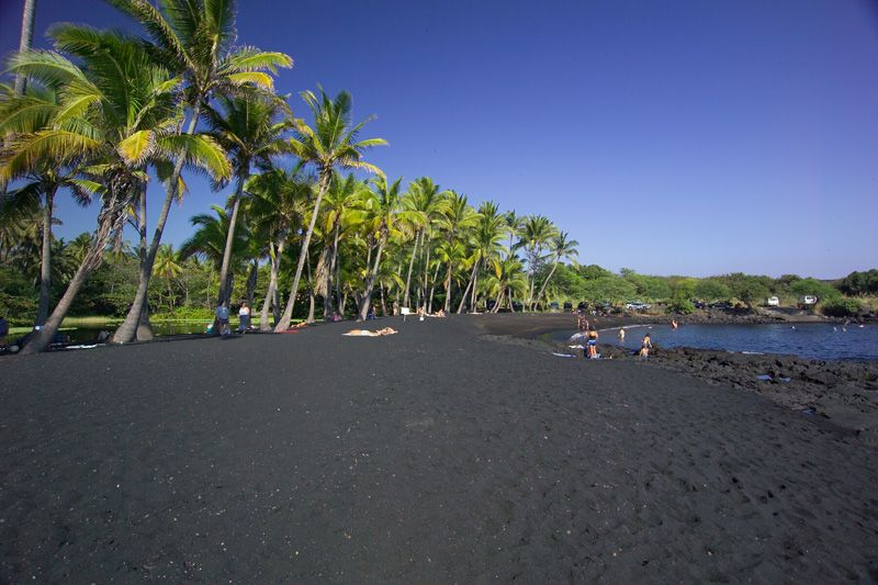 Black Sand Beach Hilo Hawaii Alohaspirit Hilogold Paradise Following April