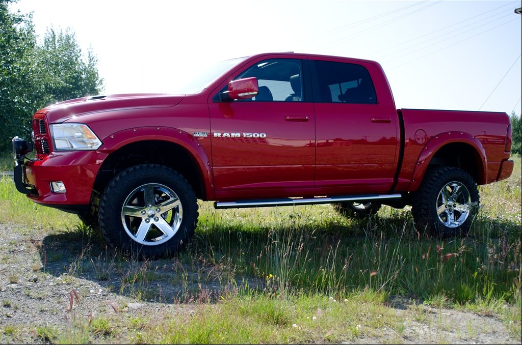 red lifted 2011 dodge ram 1500 6 inch lift - Dodge Ram 2500 2014 Red