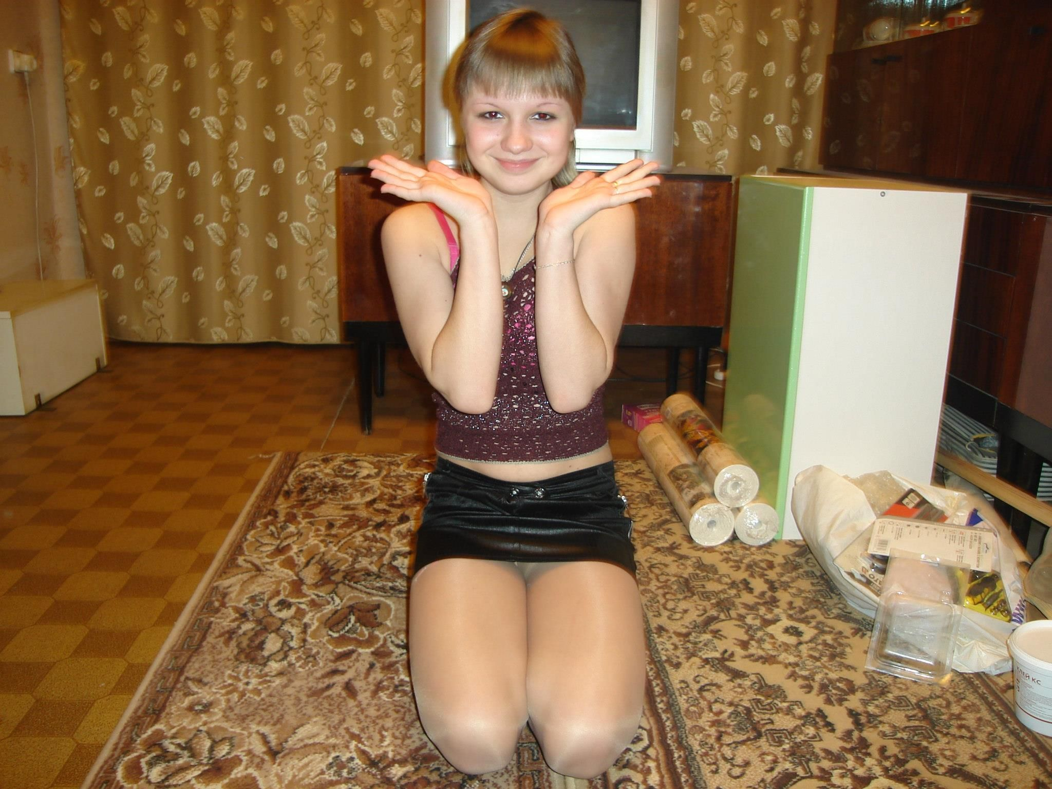 And The Pantyhose Will