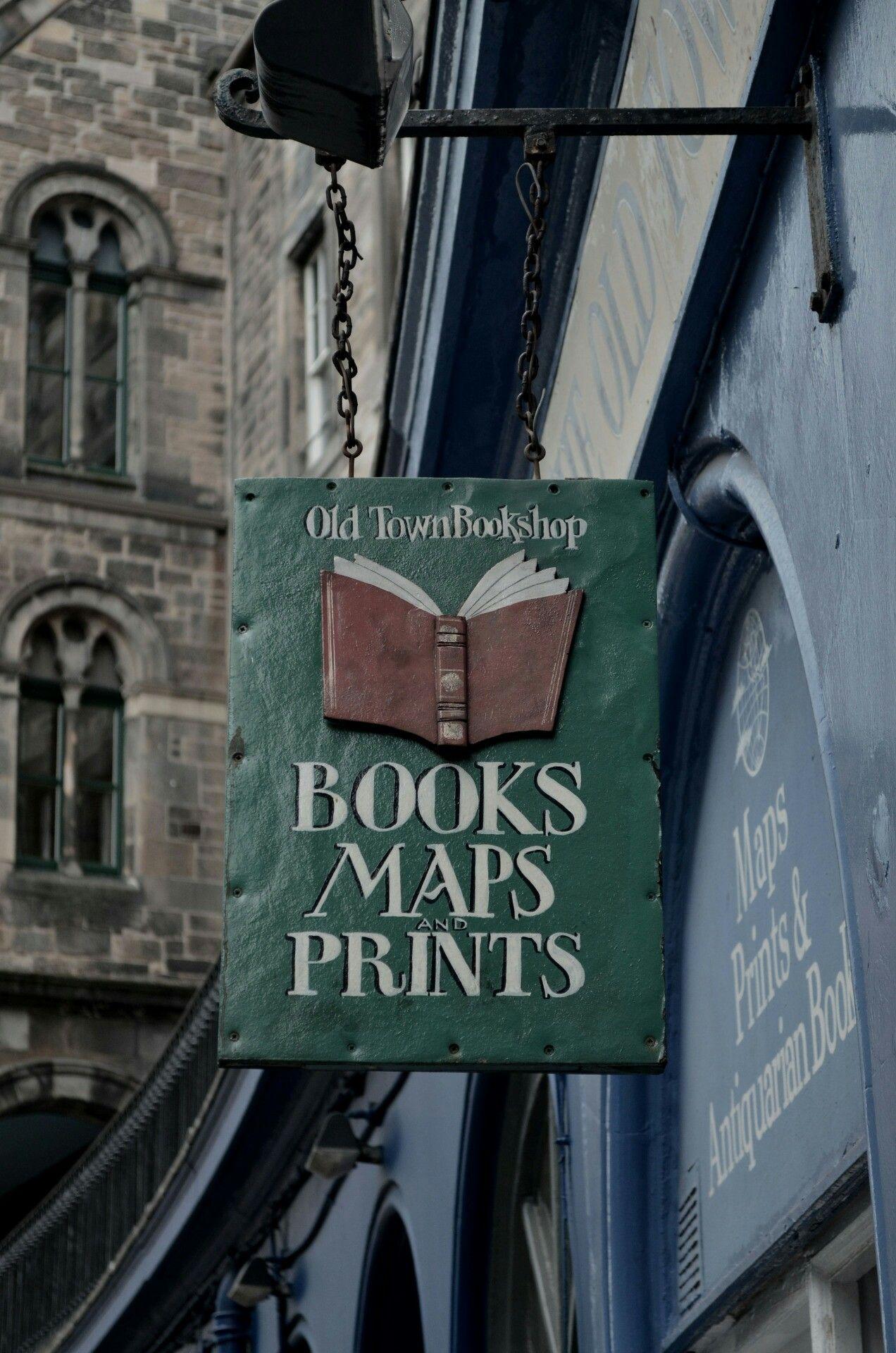 Old Town Bookshop Edinburgh Bookshop Bookstore Books