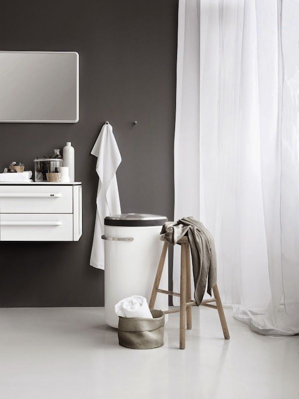 Vosgesparis: Inspiration For Your Bathroom | A Large Black Shower And Raw  Details