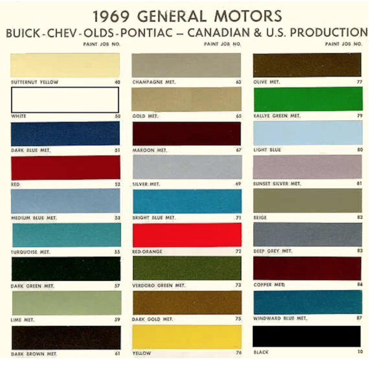 Buick red 69 buick riviera pinterest buick riviera color chart for car paint 1969 canadian color chart nvjuhfo Images