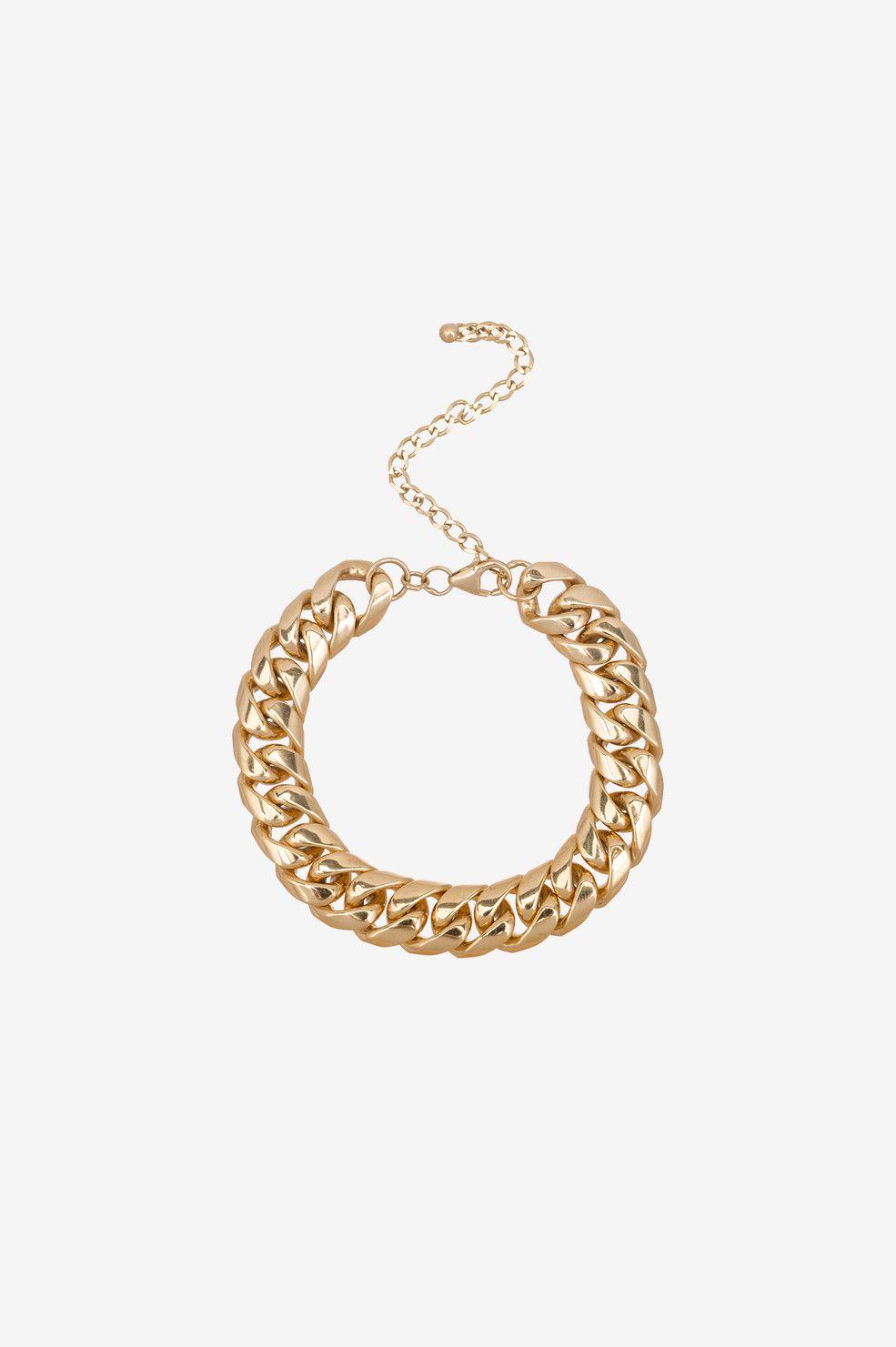 Thick chain bracelet anine bing sartorial pinterest anine