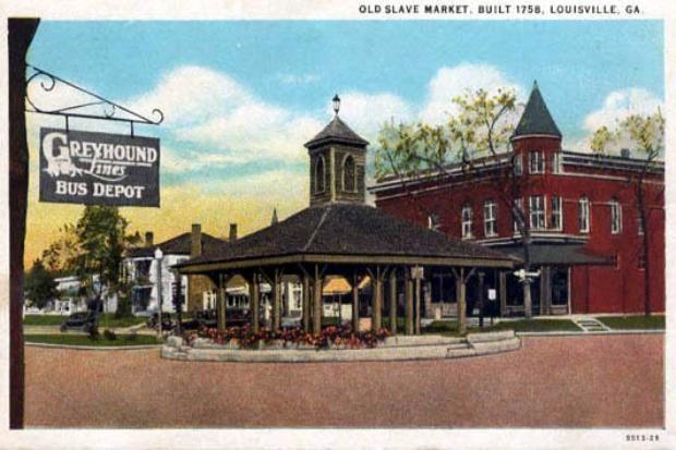 Louisville Georgia Louisville Postcard Old Postcards