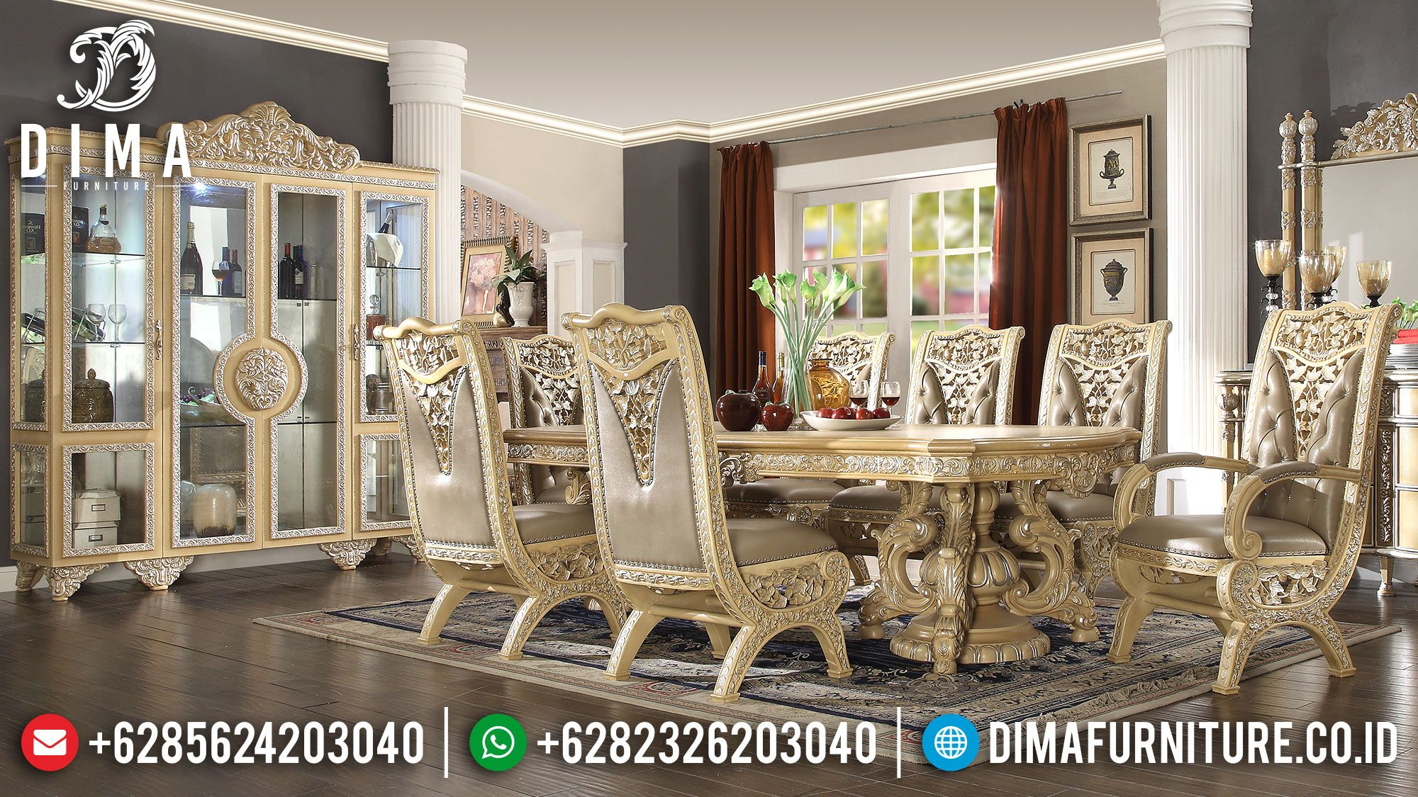 21++ Dining room sets traditional style Various Types