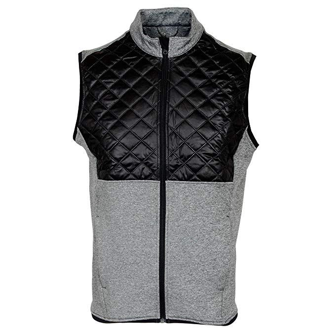 2d6249eb5 adidas Golf 2016 Climaheat Prime Fill Gilet Insulated Quilted Mens Golf  Thermal Vest Review