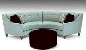 Half Round Couch All Products Living Products Sofas Sectional Sofas Round Sofa Small Room Sofa Eclectic Sectional Sofas