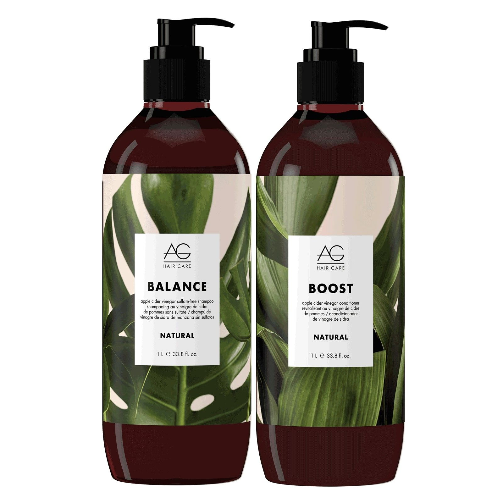 Image of AG Hair Natural Shampoo & Conditioner Duo