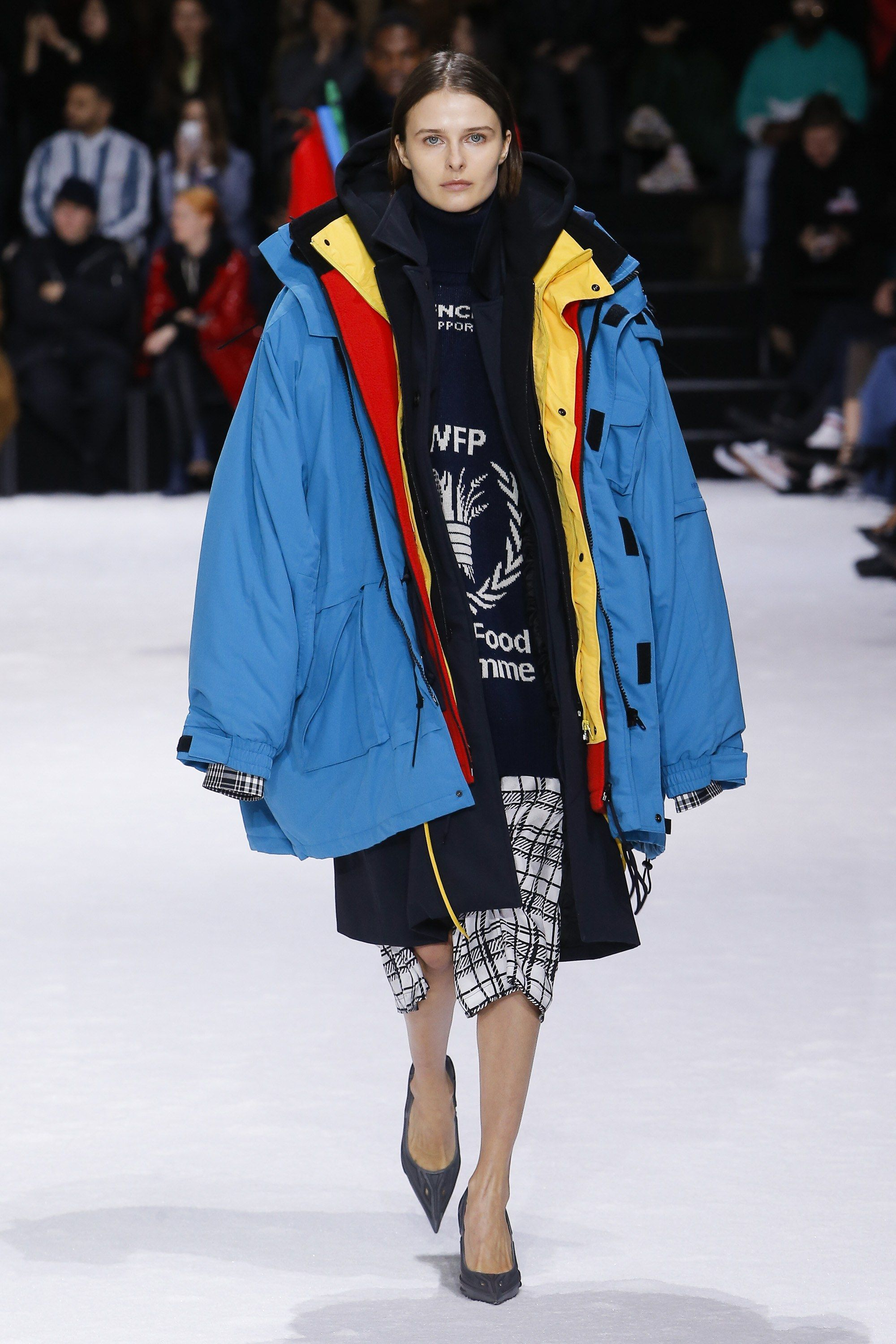 eeeaa7c11a53 Balenciaga Fall 2018 Ready-to-Wear Collection - Vogue Let's get ready to  LAYER!