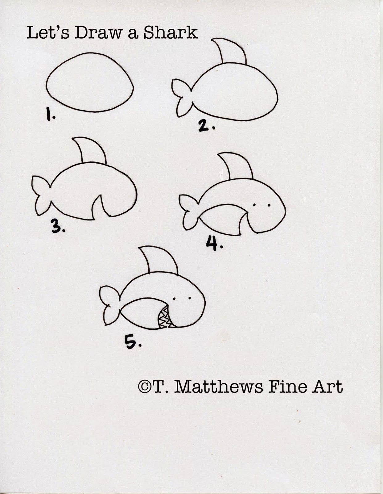 One Line Ascii Art Shark : Simple text art animals pixshark images
