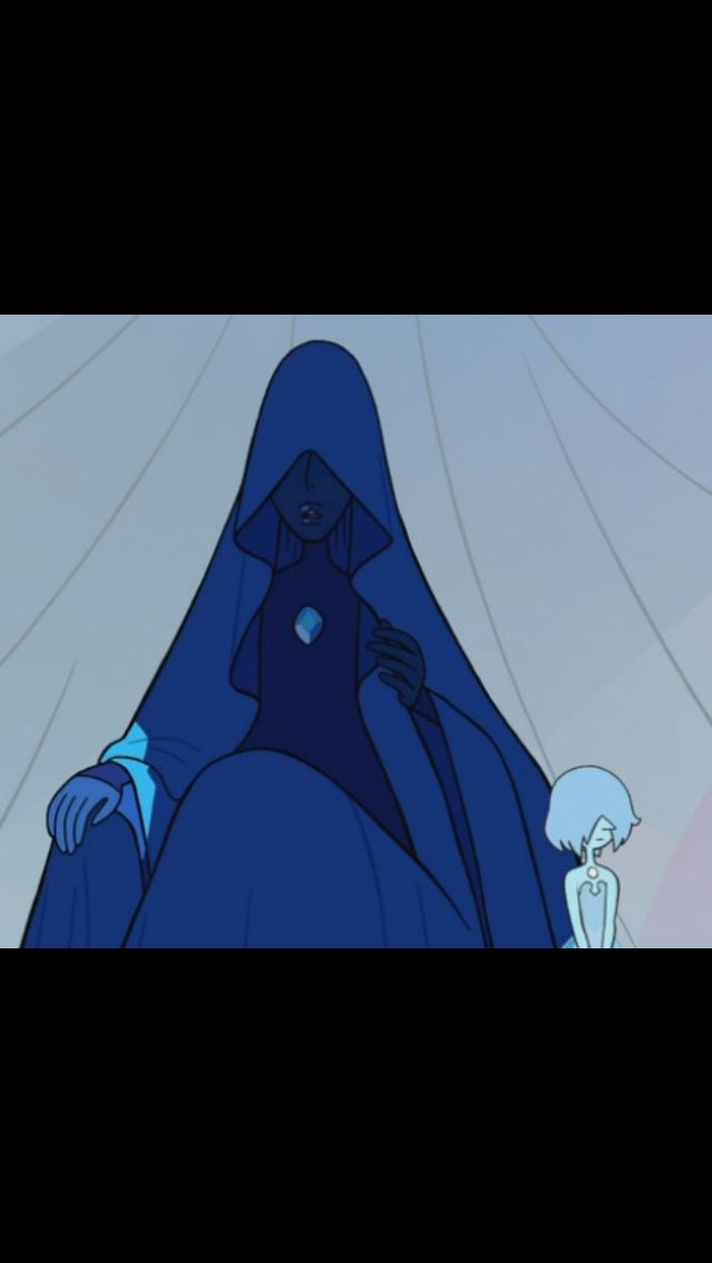 blue diamond and supposably her pearl from the latest su steven