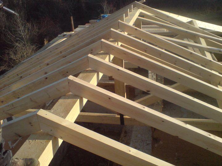 Tejados de madera carpinteria de armar pinterest for Tejados madera ourense