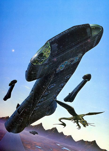Tim White - Thoughtworld by myriac, via Flickr | Click through for a larger image